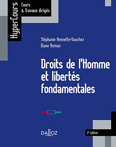 Droits de l'Homme et libertés fondamentales (HyperCours)