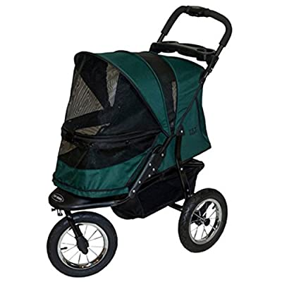 Pet Gear Jogger No-Zip Pet Stroller, Forest Green