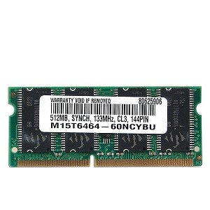 SpecTeK 512MB (64x64) PC133 144-Pin Laptop SODIMM
