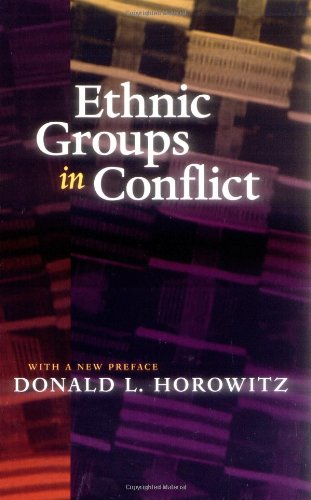 Ethnic Groups in Conflict, Updated Edition With a New...