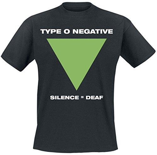 Type O Negative Silence T-Shirt nero XXL