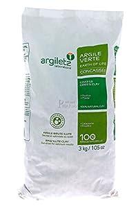 ARGILETZ Argile verte concassée - Contenance - 3kg - 3kg