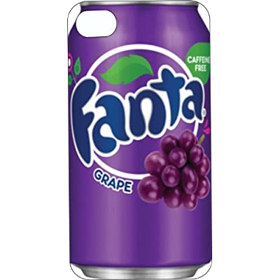 Amazon.com: One-Piece iPhone 5 Red Rubber Case Grape Fanta Can