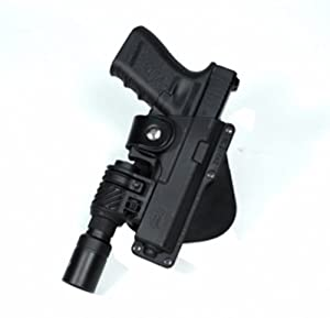 Fobus Tactical Speed Holster Paddle GLT17 Glock 17,22,31 Ruger 345 Berretta PX Storm... by Fobus
