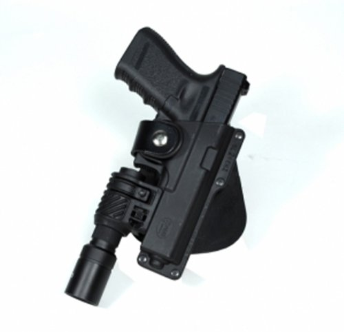 Fobus Roto Tactical Speed Holster Paddle Left Hand GLT17RPL Glock 17,22,31 / Ruger 345 / Berretta PX Storm / S&W M&P Full Size / Berretta PX4 Storm Full Size / S&W 99 Full Size 9/40/45 / Walther 99 Fu