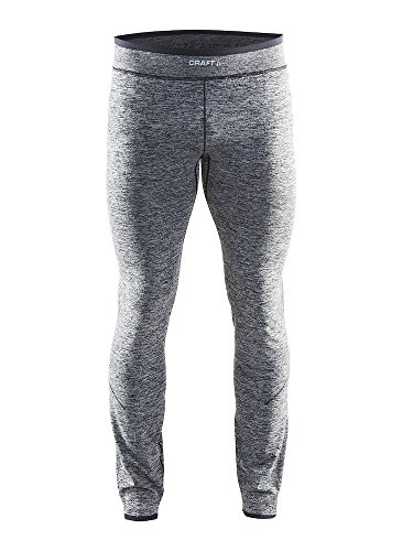 Craft Men's Active Comfort Base Layer Pants, Black, Small