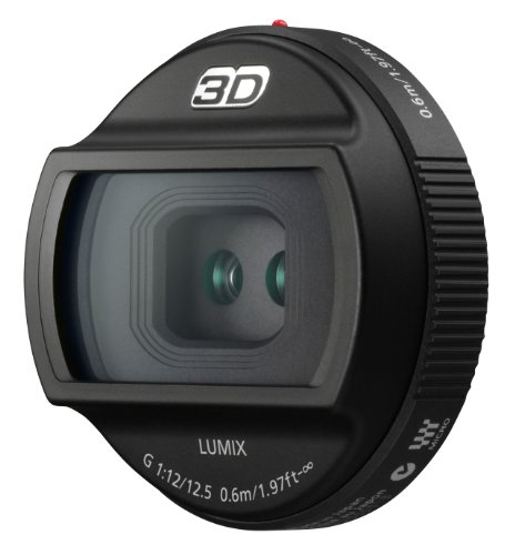 Panasonic Interchangeable 3D Lens for LUMIX G