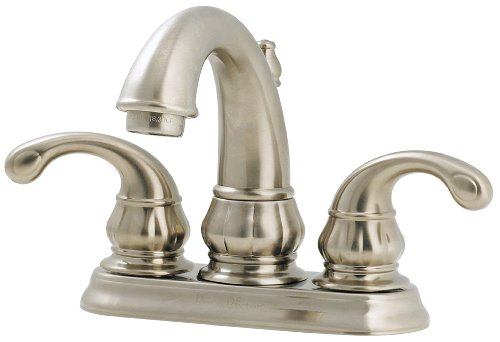 "7 Faucet Finishes For Fabulous Bathrooms: Pfister Treviso 2 Handle 4"" Centerset"
