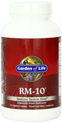 Garden of Life Immune System Food, RM-10, 120 Caplets