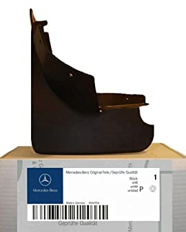 Mercedes benz genuine oem mud flaps splash guards 2012 to for Mercedes benz ml350 mud flaps