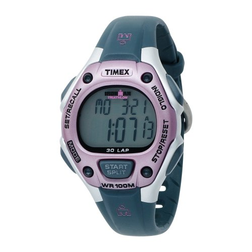 Timex Timex Women's T5K020 Ironman Traditional 30-Lap Pink/Gray Resin Strap Watch