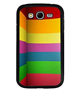 printtech Colored Abstract Lines Back Case Cover for Samsung Galaxy Grand Neo::Samsung Galaxy Grand Neo i9060