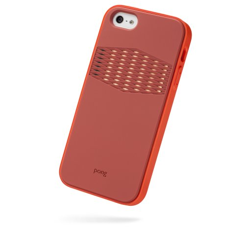 Great Sale Pong Rugged Case for iPhone 5, Adobe Orange with Gold Reveal