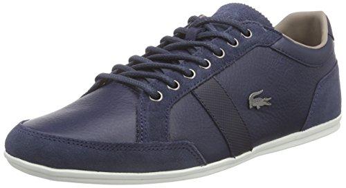 Lacoste ALISOS 23, Low-Top Sneaker uomo, Blu (Blau (NVY 003)), 45