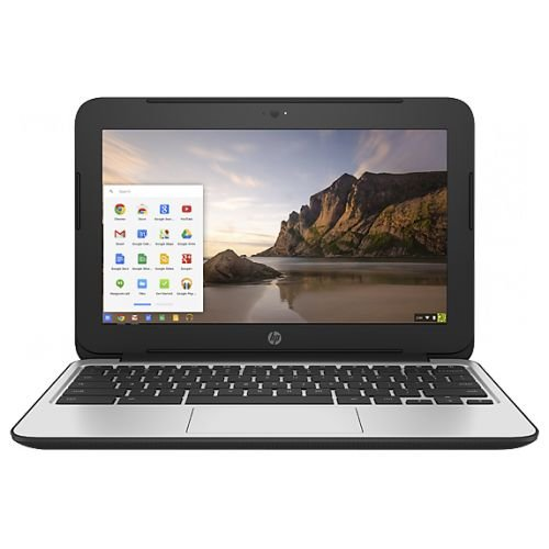 HP Chromebook 11 G4 11.6 Inch Laptop (Intel N2840 Dual-Core, 2GB RAM, 16GB Flash SSD, Chrome OS), Black