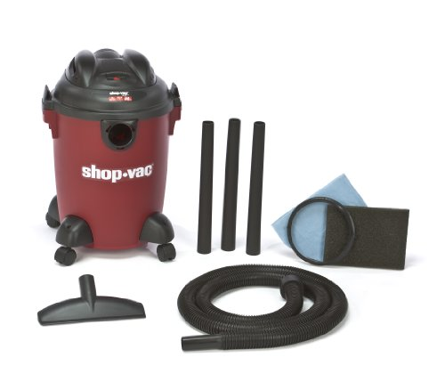 Shop-Vac 5940500 2.0-Peak Horsepower Quiet Series Wet/Dry Vacuum, 5-Gallon