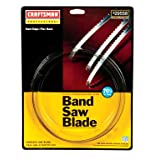 Craftsman 1/4 x 70-1/2 in. Band Saw Blade, 6TPI, Skip Tooth Flex Back, 9-29558