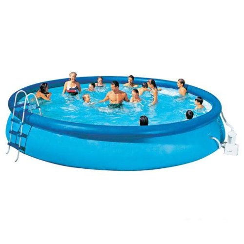 Intex 56414fr piscine kit piscine easy set 4 57 x 0 for Piscine intex 4 57 x 0 91