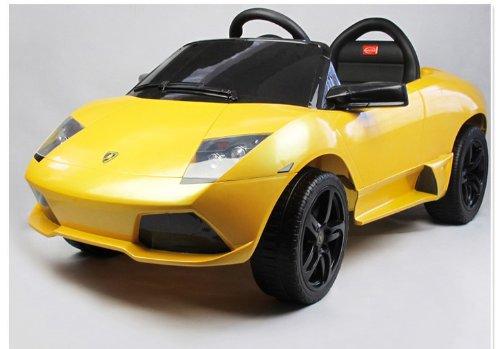 Lamborghini Murcielago LP640 Kids Ride on Car Toy Electric Car with Remote Control - Yellow