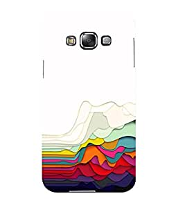 Mental Mind 3D Printed Plastic Back Cover For Samsung Galaxy E7- 3DSAME7-G461