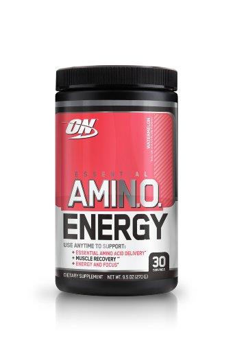 Optimum Nutrition Essential Amino Energy Drink, Watermelon, 9.5 oz., 30 servings