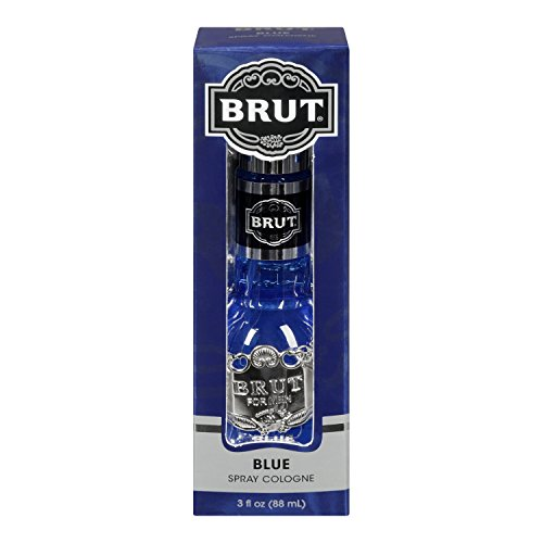 Brut Blue, Acqua di Colonia Spray da uomo, 88 ml