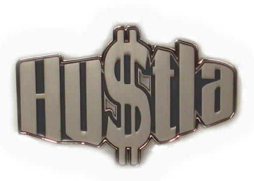 BeltsandStuds Goth Punk Hip Hop Rock Dollar Metal Buckle Silver