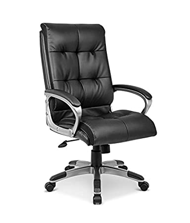 Nilkamal Veneto High Back fice Chair Black