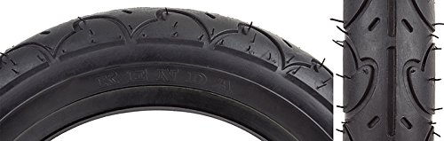 "Sunlit Freestyle Tire, 12-1/2 x 2-1/4"", Black"
