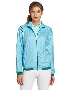 彪马DWR防撕裂体感爽肤防水冲锋衣 $49.50 Puma Golf Women's Kinetic Stretch Jacket