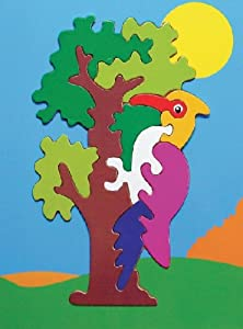 Puzzled Fun Puzzle - Parrot Wooden Toys