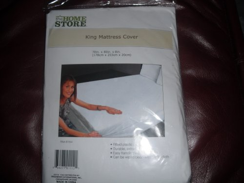 fitted king mattress cover