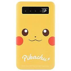 ポケットモンスター USB出力リチウムイオンポリマー充電器 ピカチュウ poke-552a