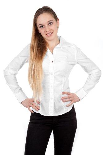 La Martina - Camicia - Maniche lunghe  -  donna bianco Large