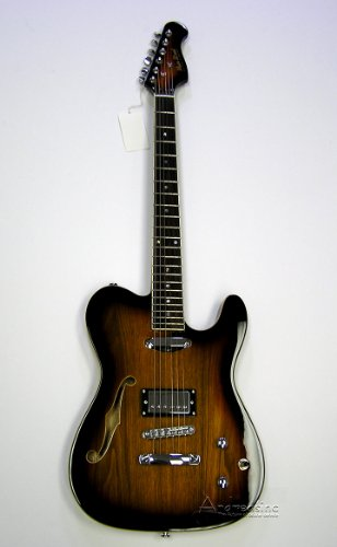 Vintage Style Semi-Hollow Body Electric Guitar