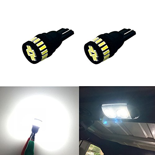 JDM ASTAR Extremely Bright 4014 Chipsets 168 175 194 2825 W5W T10 LED Bulbs,Xenon White (96 Honda Accord Ex Tail Lights compare prices)