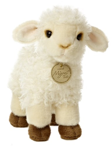 Aurora World Miyoni Baby Lamb Plush, 7""