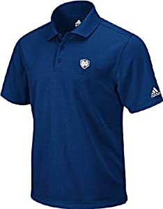 Notre Dame Fighting Irish Blue Arch Logo Mens Climalite Polo Shirt by Adidas by adidas