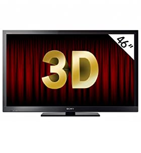 Sony Bravia 46'' KDL-46HX803 Full HD 3D Ready Slim LCD TV with Freeview™ HD