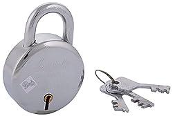 LINK LOCKS Iron Round Lock 57 (Silver)