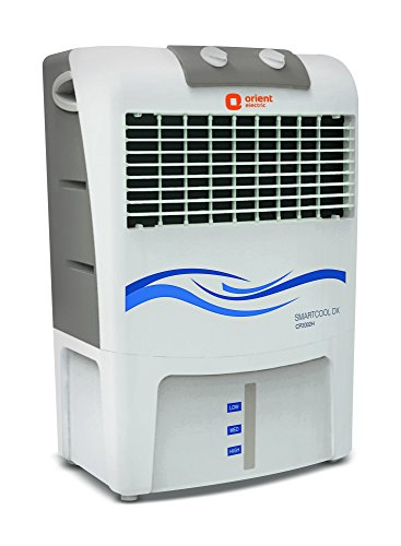 Orient Electric Smartcool Dx CP2002H 20 Litres Air Cooler (White and Light Grey)  available at amazon for Rs.5645