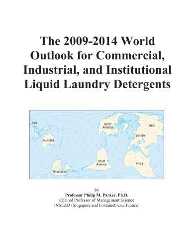 The 2009-2014 World Outlook For Commercial, Industrial, And Institutional Liquid Laundry Detergents front-578167