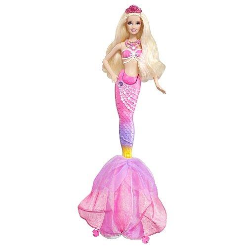 Barbie The Pearl Princess 2-in-1 Transforming Mermaid Doll