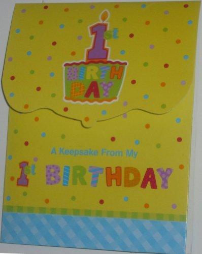 First Wish First Birthday Keepsake (Pack Of 3)