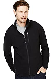 Active Zip Through Micro Fleece