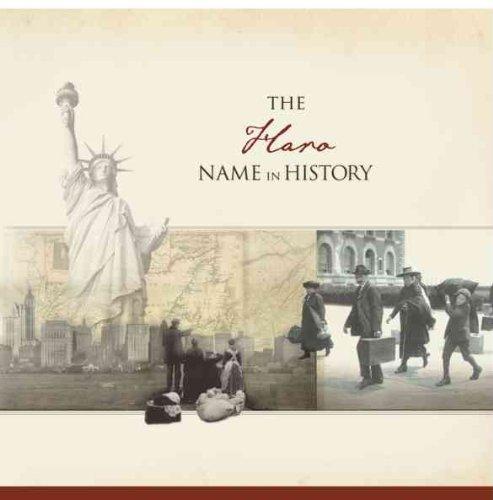 The Haro Name in History