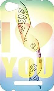 BKDT Marketing Beautifully printed Soft Back cover for Xolo Era 4G