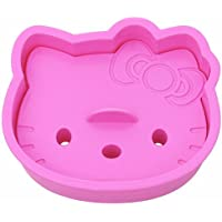 UMATH Kitty Sandwich Toast Bread Cutter Mold Cookie Stamp Kit