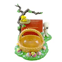 Dept 56 Accessories Snoopy\'s Easter Dog House Peanuts Ceramic Woodstock - Ceramic 6.25 IN