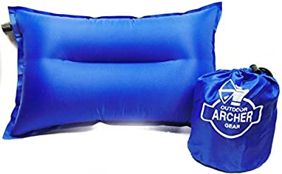 """Archer Compressible Self Inflating Camping Pillow 20"""" X 12"""""""